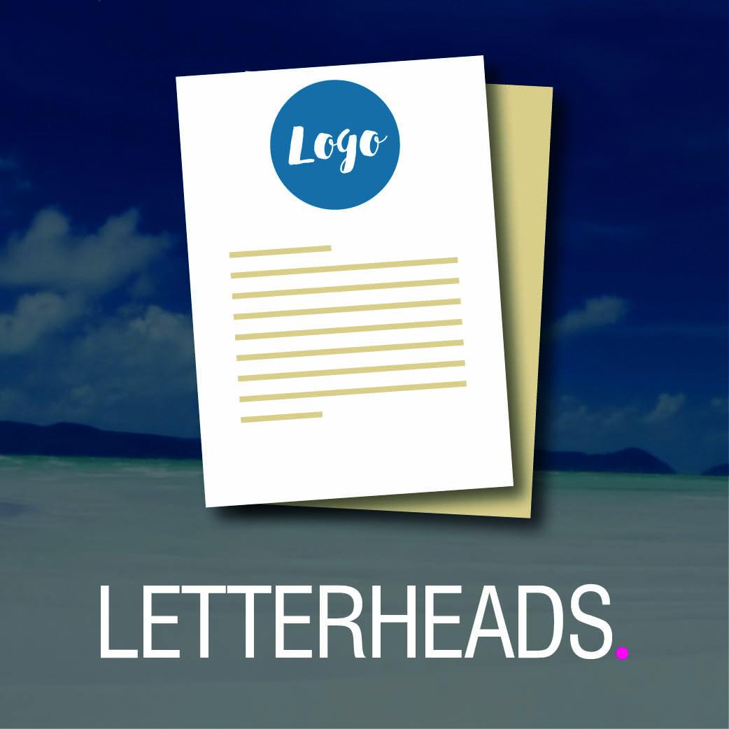 Product Tile - Letterheads