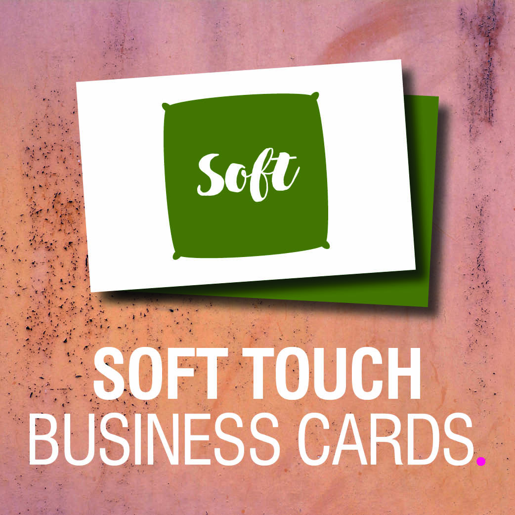 Product Tile - Soft Touch Business Cards