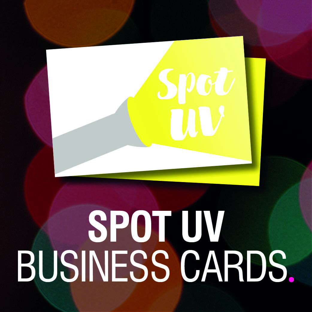 Product Tile - Spot UV Business Cards