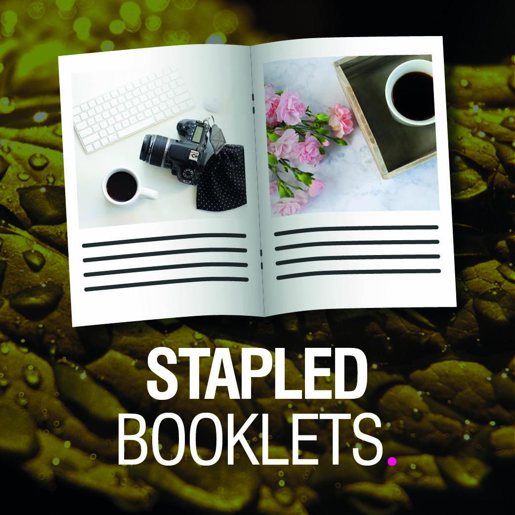 Product Tile - Stapled Booklet v2