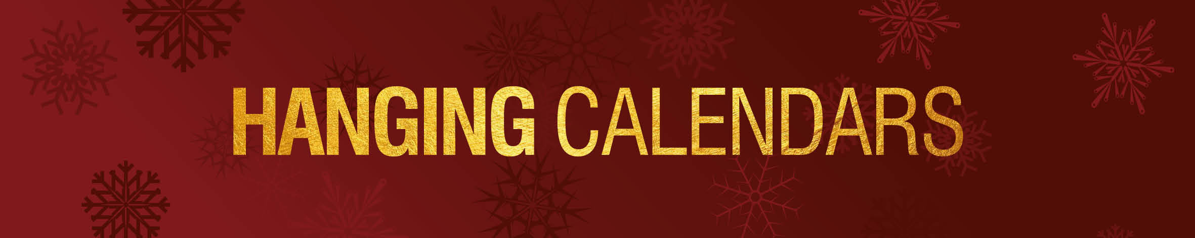 Christmas Hanging Calendars Banner 19