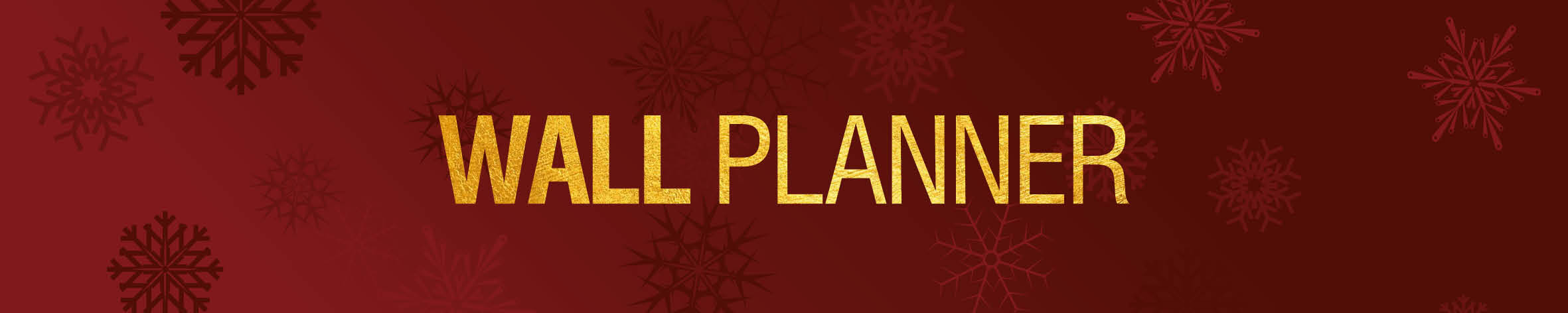 Christmas Wallplanner Banner 19