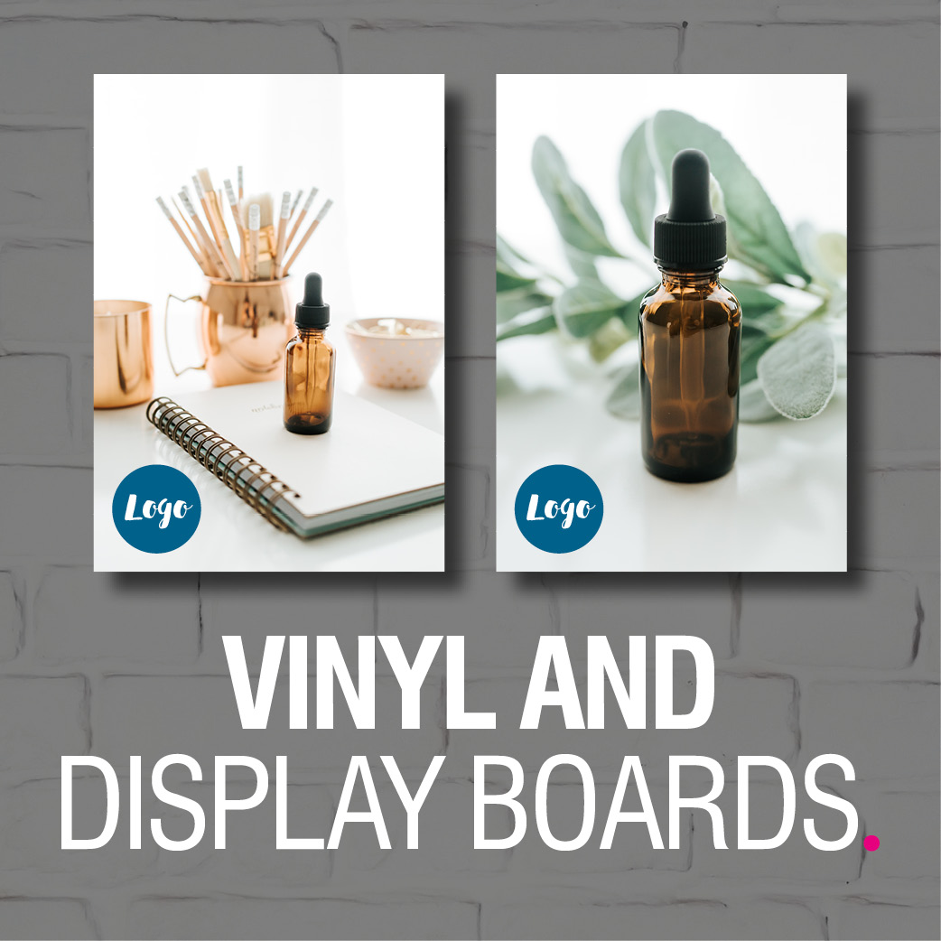 Product Image - Vinyl and Display Boards