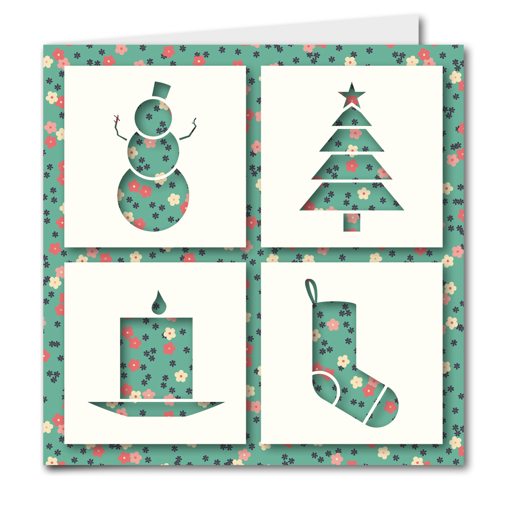 Product Tile - 1507 - Christmas Cut Outs